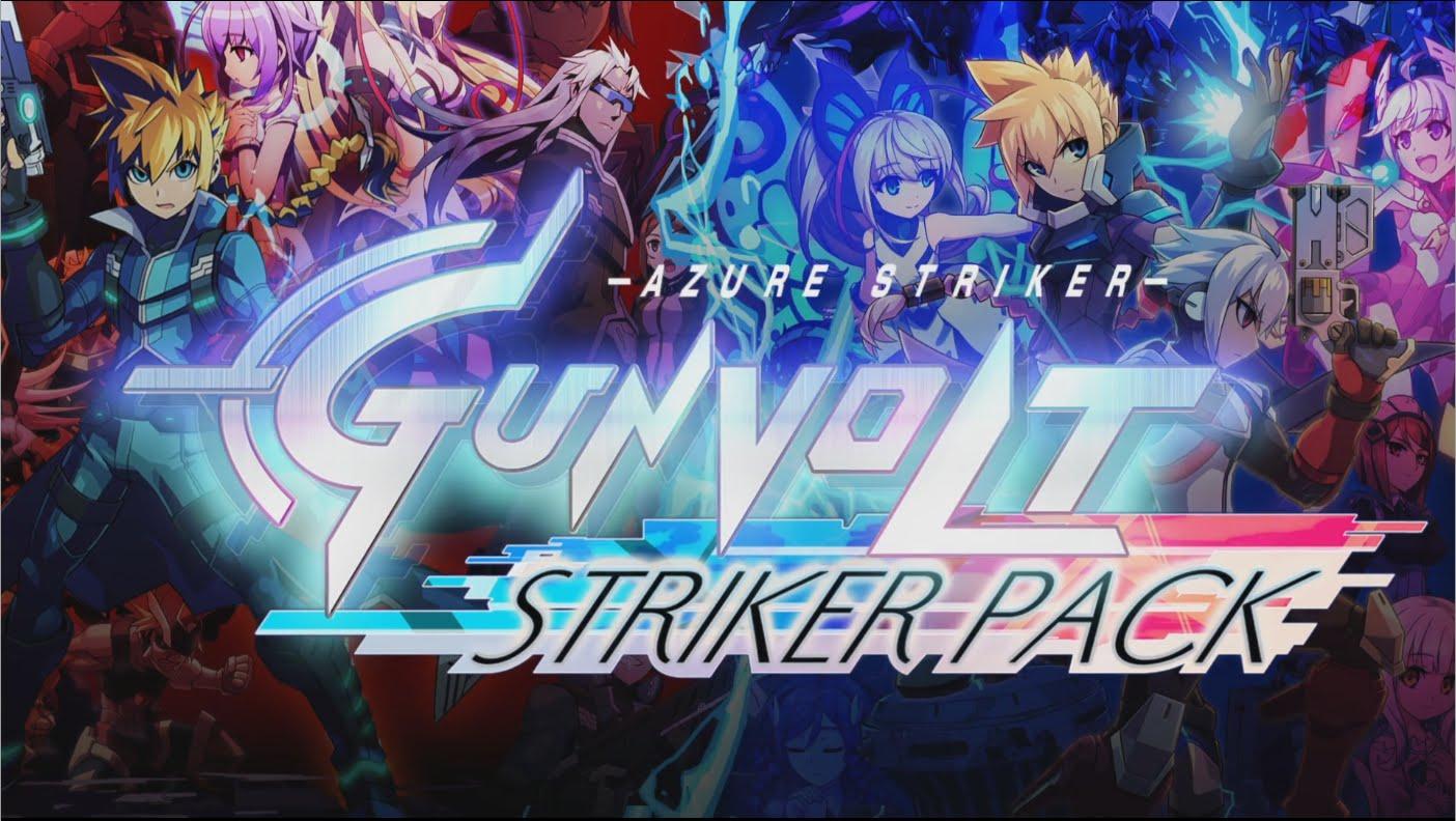Azure Striker Gunvolt – Japanese voice mode στο Striker Pack