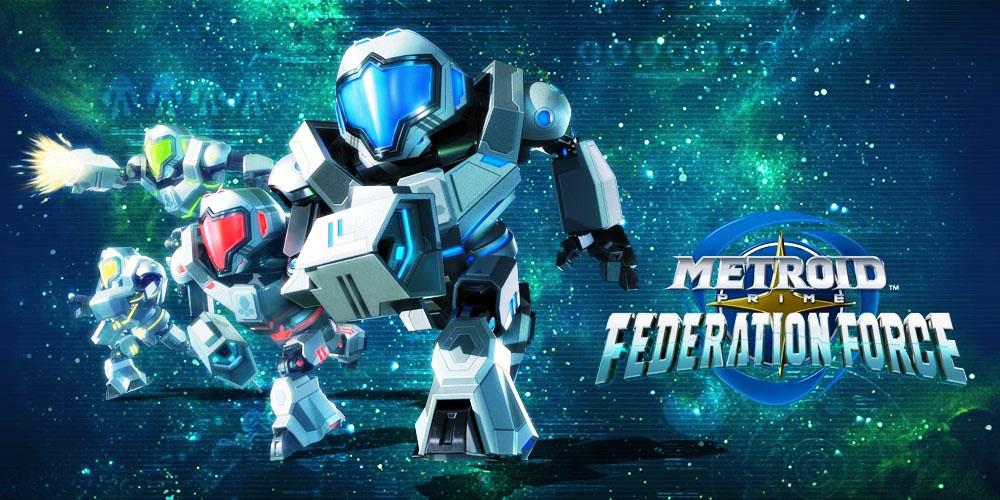 Δωράκια για το Metroid Prime: Federation Force από το Nintendo UK store