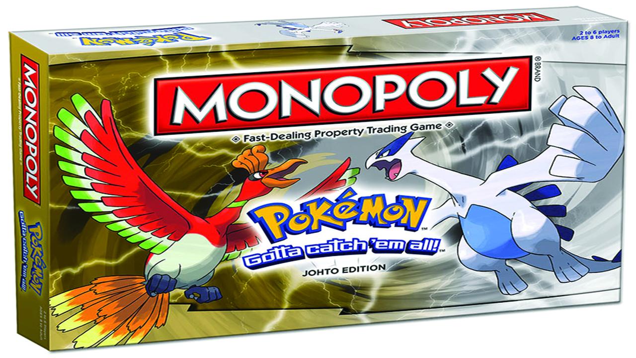 Έρχεται Monopoly: Pokemon Johto Edition
