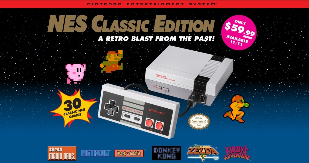 Η Nintendo μιλά για το NES Classic Edition