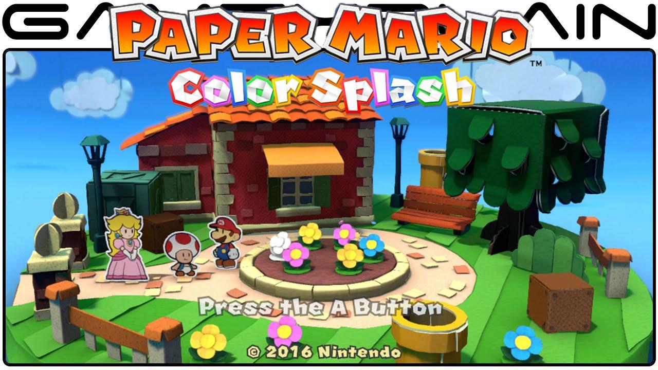 Βαθμολογίες κριτικών του Paper Mario: Color Splash