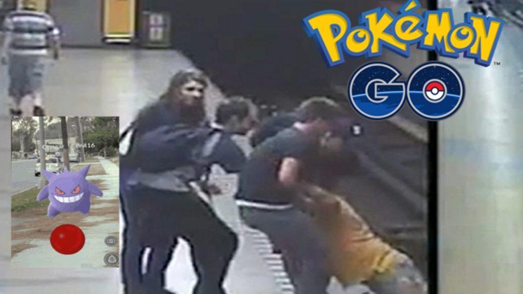 Παρουσίαση βραδινού δελτιού ειδήσεων δείχνοντας σκηνές βίας που δεν είχαν να κάνουν με το PokemonGO. Κι όμως το παρουσίασαν ως φαινόμενο που προκαλεί το παιχνίδι.