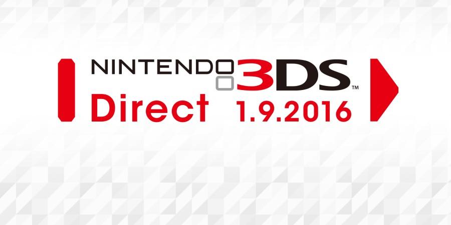 3DS Direct στις 01/09/2016 από την Nintendo