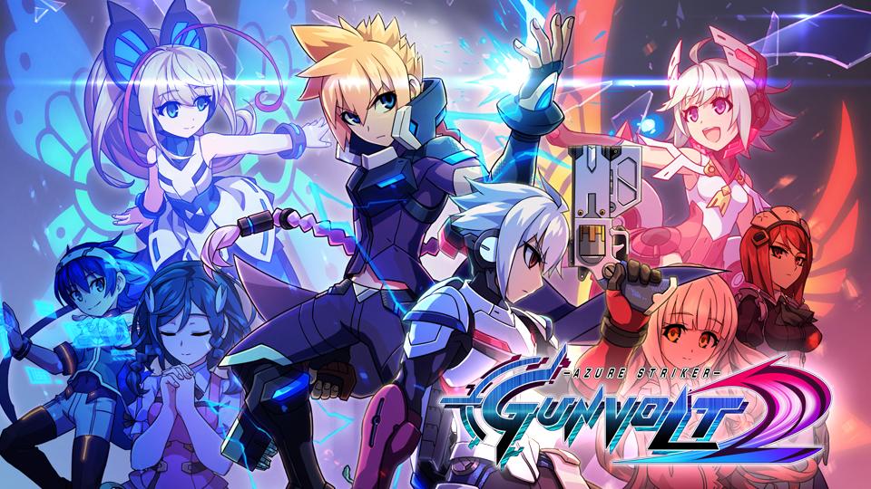 Στιγμιότυπα από το Azure Striker Gunvolt 2