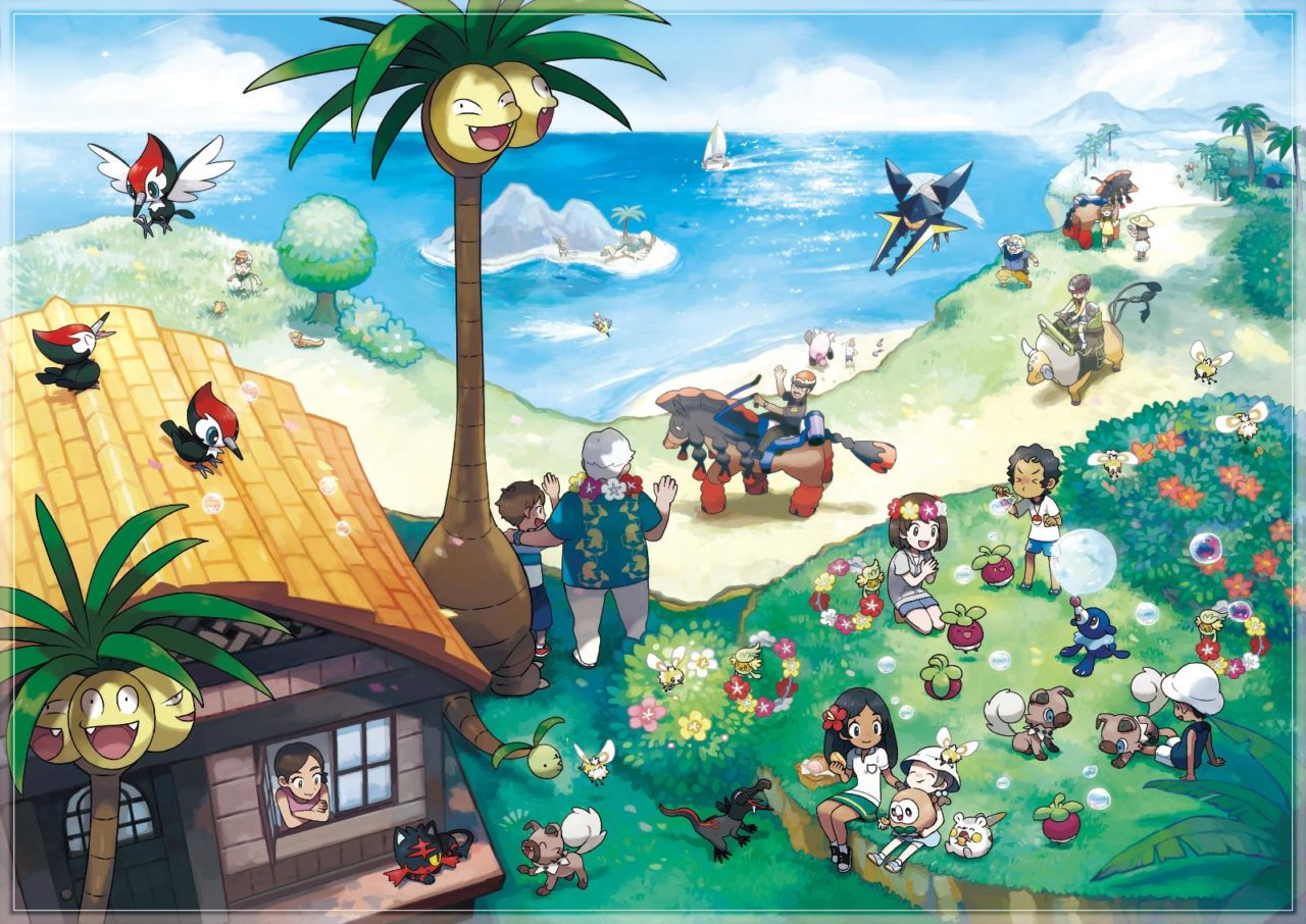 Pokemon Sun/Moon – πολλές λεπτομέρειες και εικόνες για Z-moves, Alola trials, kahuna και νέα Pokemon