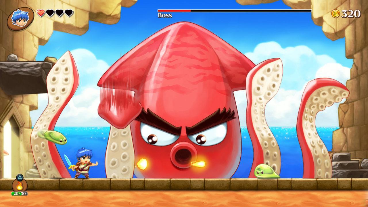 Υλικό και νέα από το Monster Boy, που έρχεται σε Nintendo κονσόλα