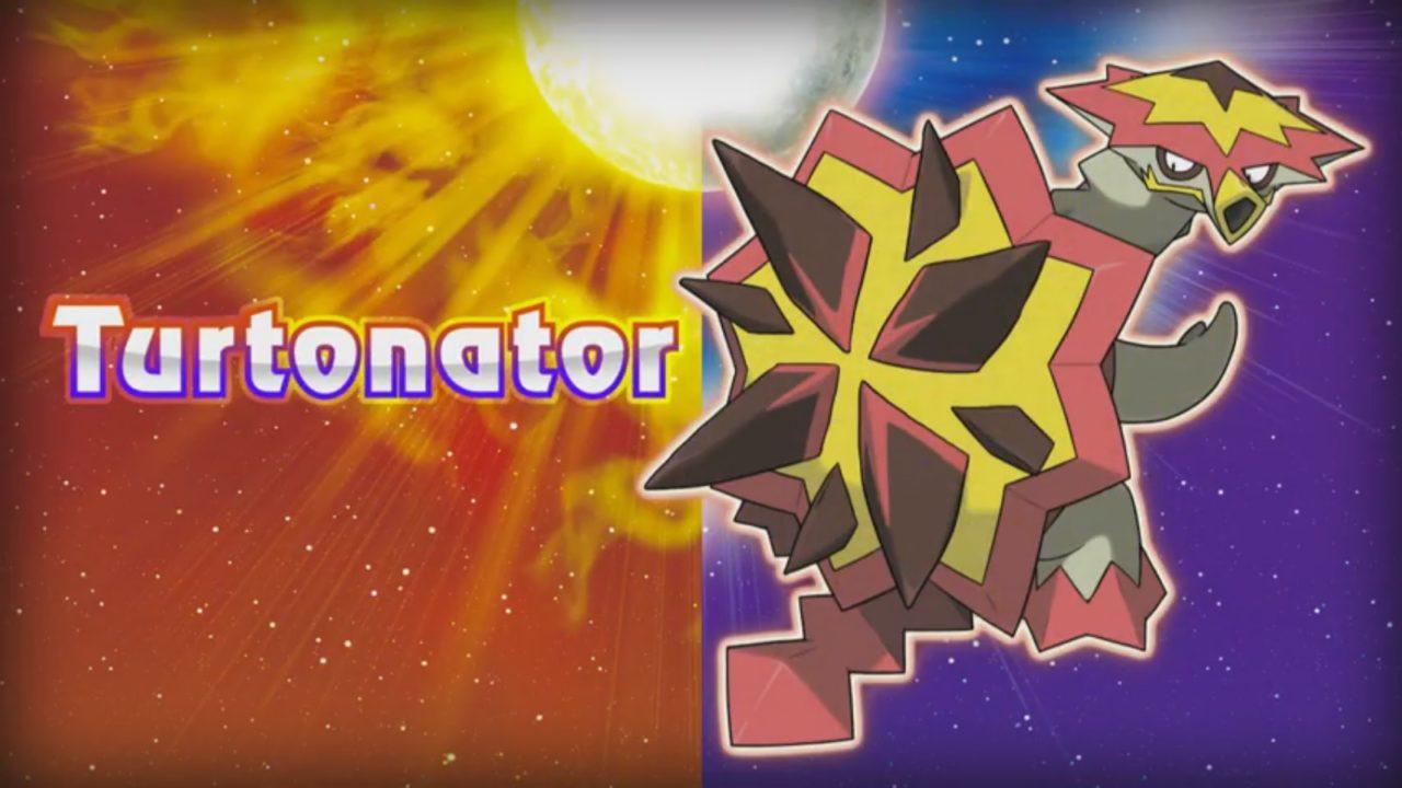 Pokemon Sun/Moon – αποκάλυψη των Turtonator και Crabrawler