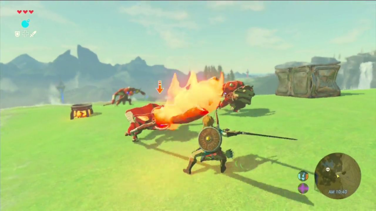 Zelda: Breath of the Wild -βίντεο με όπλα