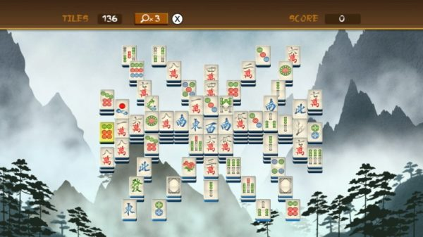 Ο χώρος που καταλαμβάνει το Mahjong