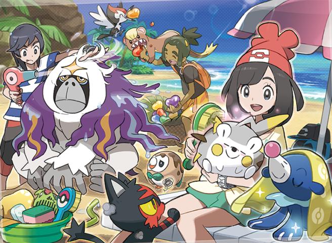 Pokemon Sun/Moon – νέες εικόνες και λεπτομέρειες