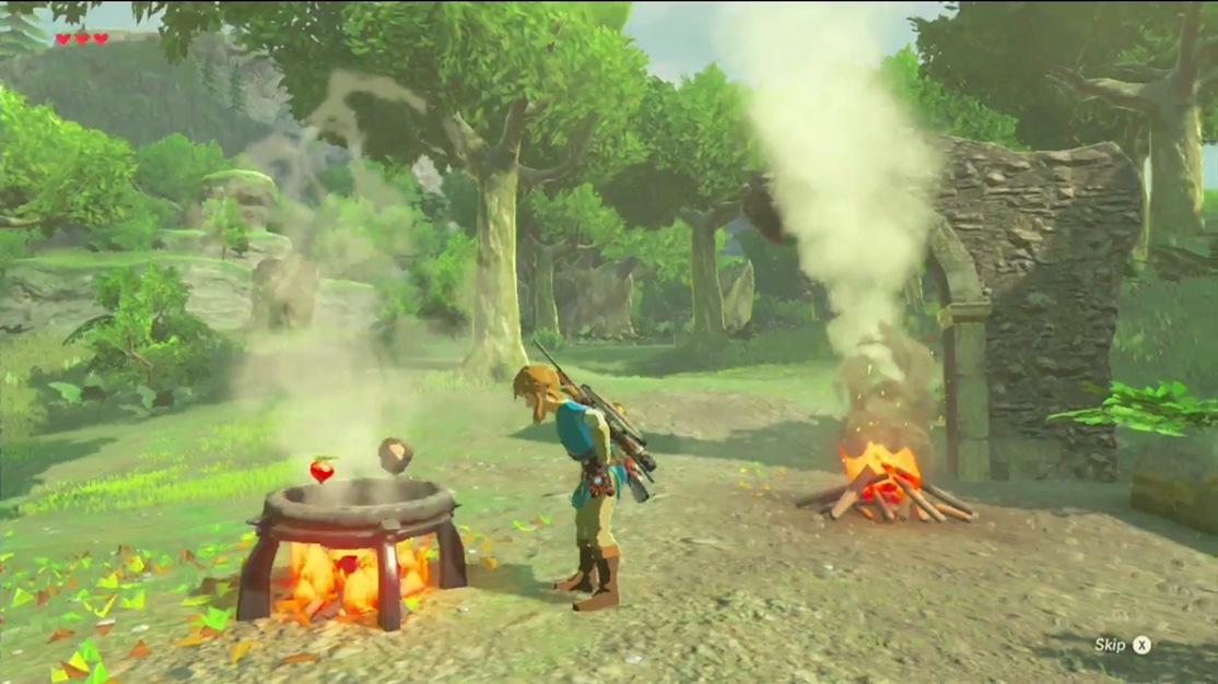Zelda: Breath of the Wild – κλιπάκι με… μαγειρική