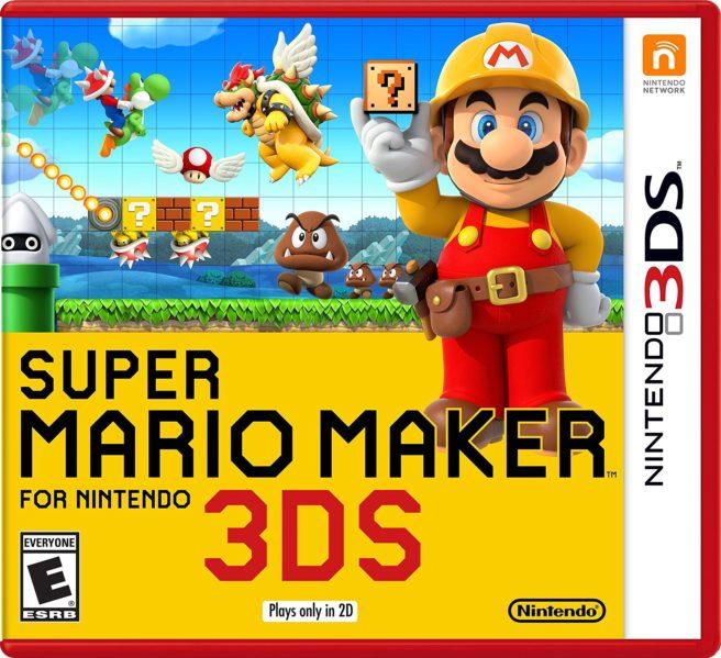 Το Super Mario Maker Έρχεται στο Nintendo 3DS