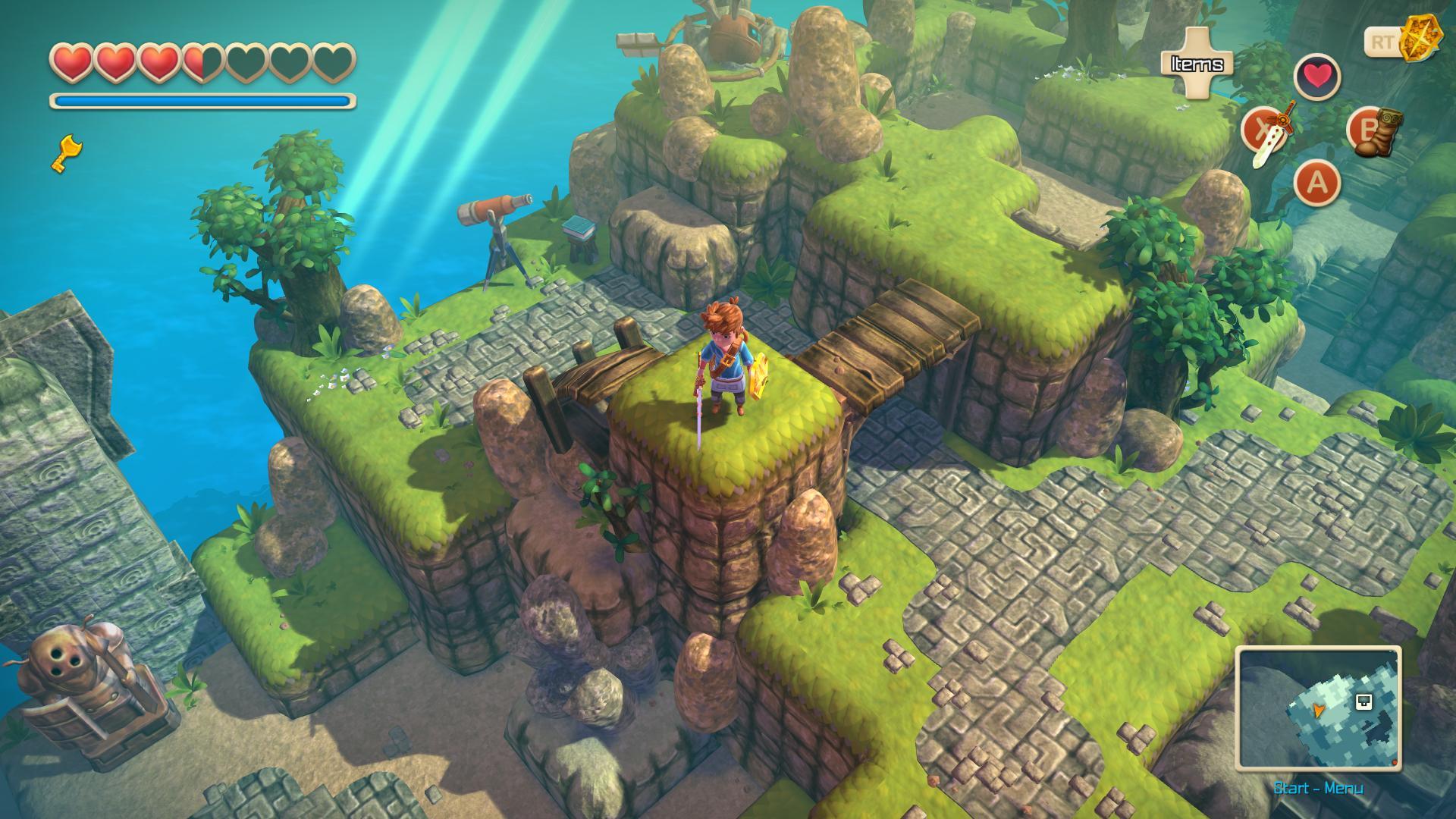 Το Oceanhorn έρχεται σε κονσόλες της Nintendo