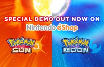 Pokemon Sun/Moon demo