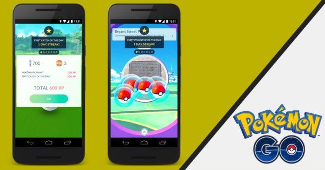 Ημερήσια μπόνους για το Pokemon GO επιβεβαιώνει η Niantic