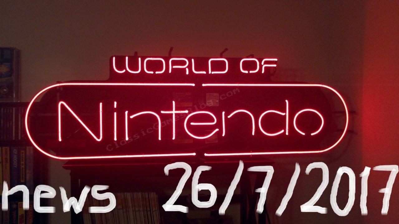World of Nintendo 26/07/2017 – HORI, Odyssey και Pikmin