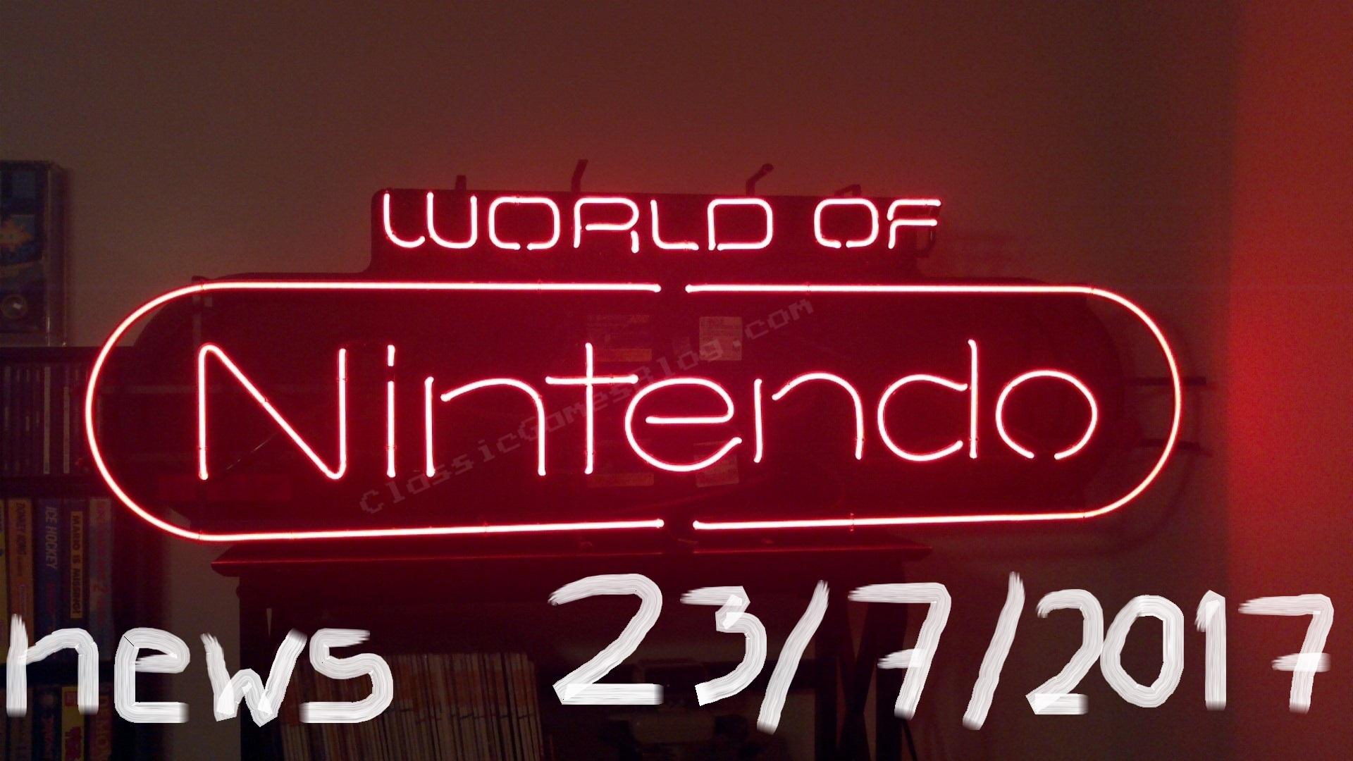 World of Nintendo 23/7/2017 – Πένθος, καρτ και καλαμάρια