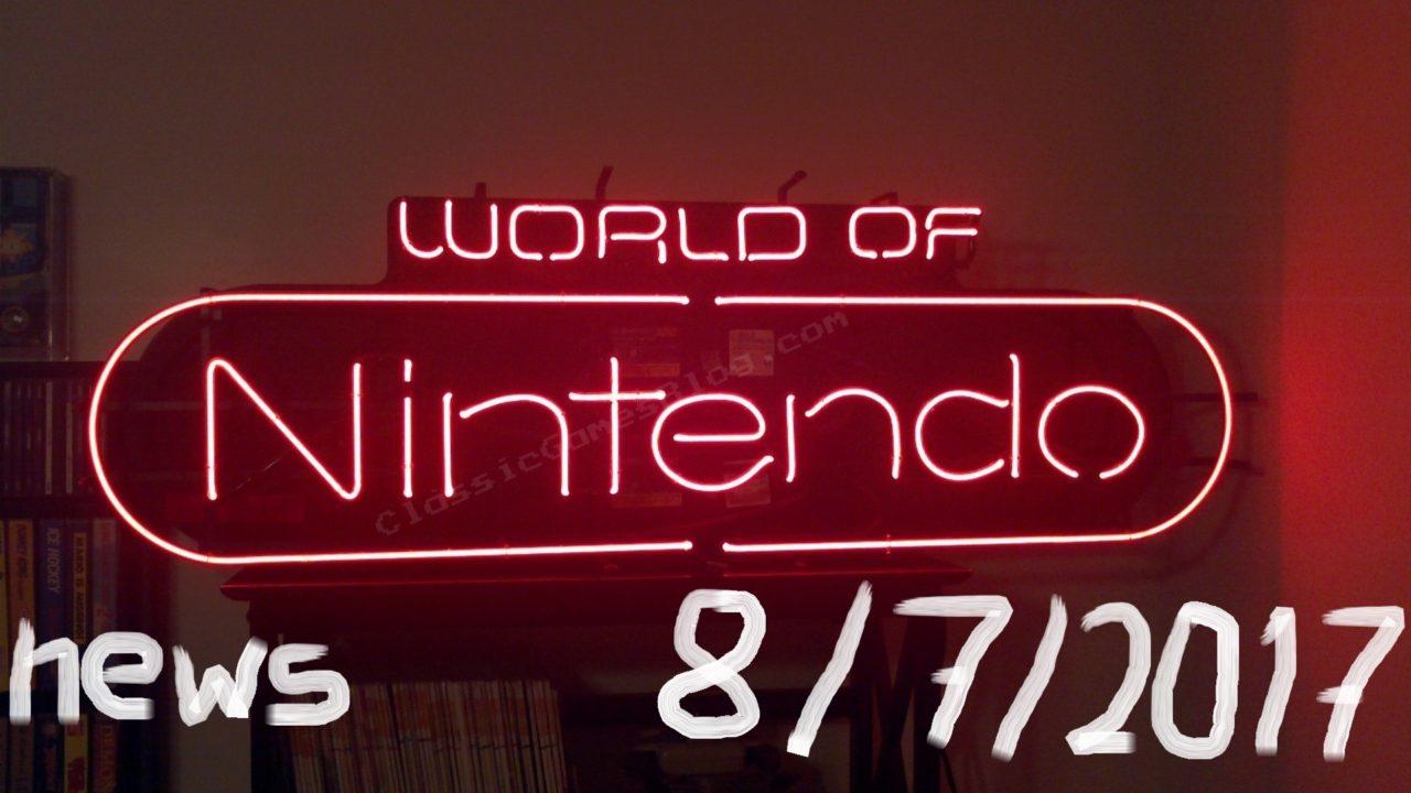 World of Nintendo 8/7/2017 – Πολλά και διάφορα