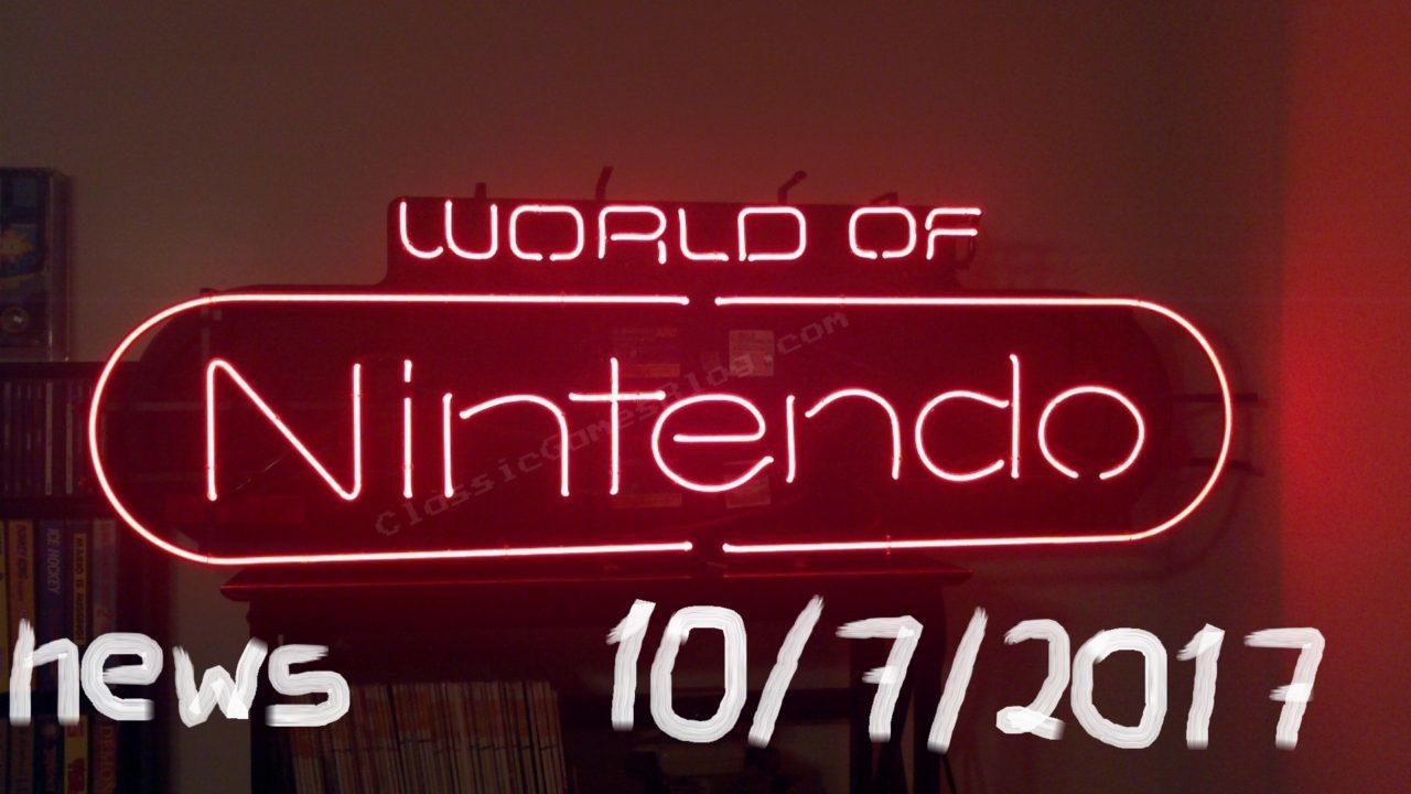 World of Nintendo 10/7/2017 – Και ξαφνικά, νέα!