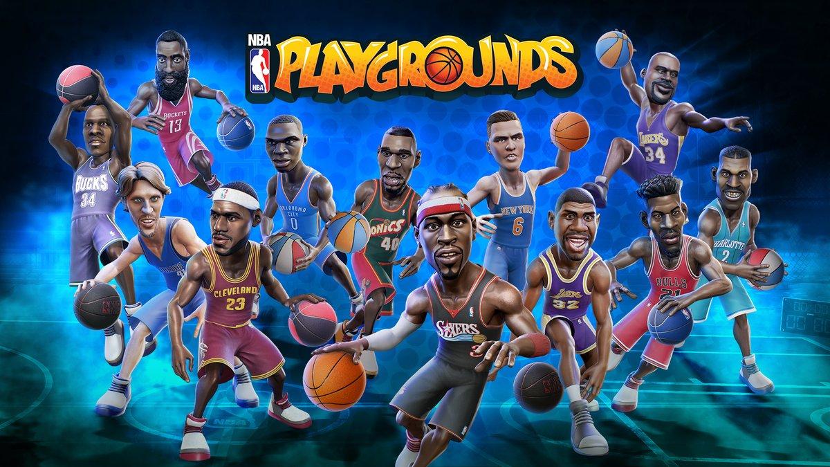 NBA Playgrounds update – επιτέλους online!