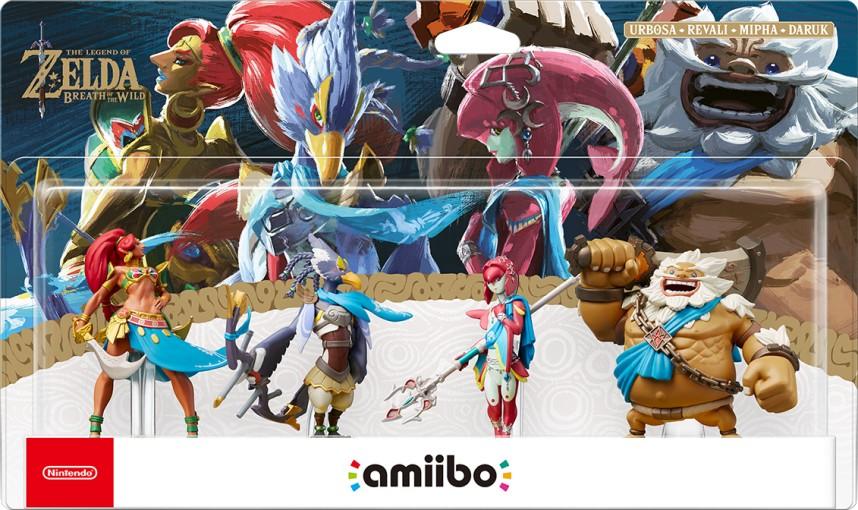 Πληροφορίες για τα νέα amiibo των Champions of Hyrule
