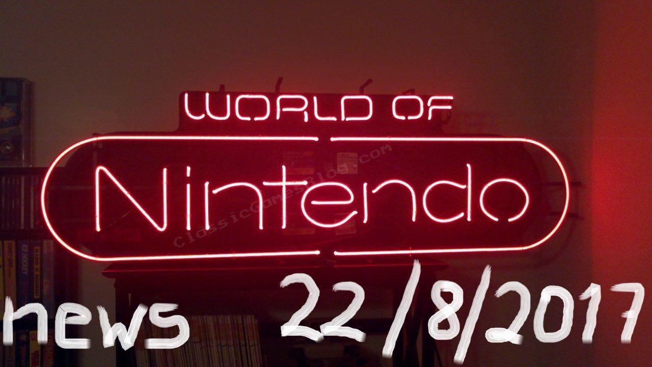 World of Nintendo 22/08/2017 – Πληθώρα από νέα!