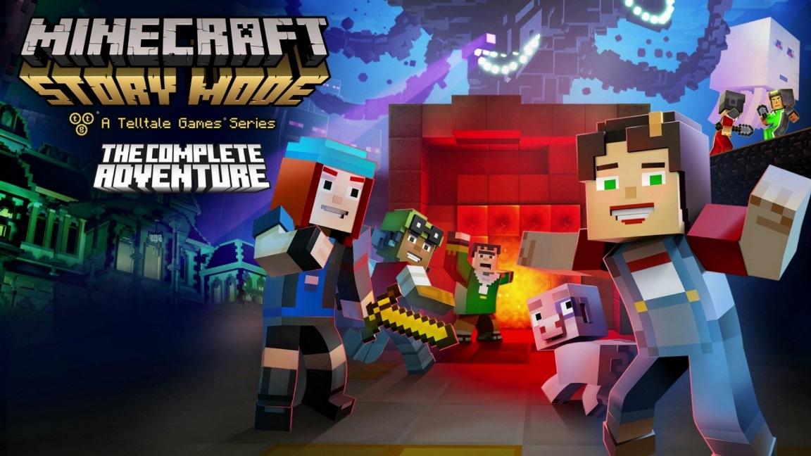 Έρχεται το Minecraft: Story Mode Complete στο Switch