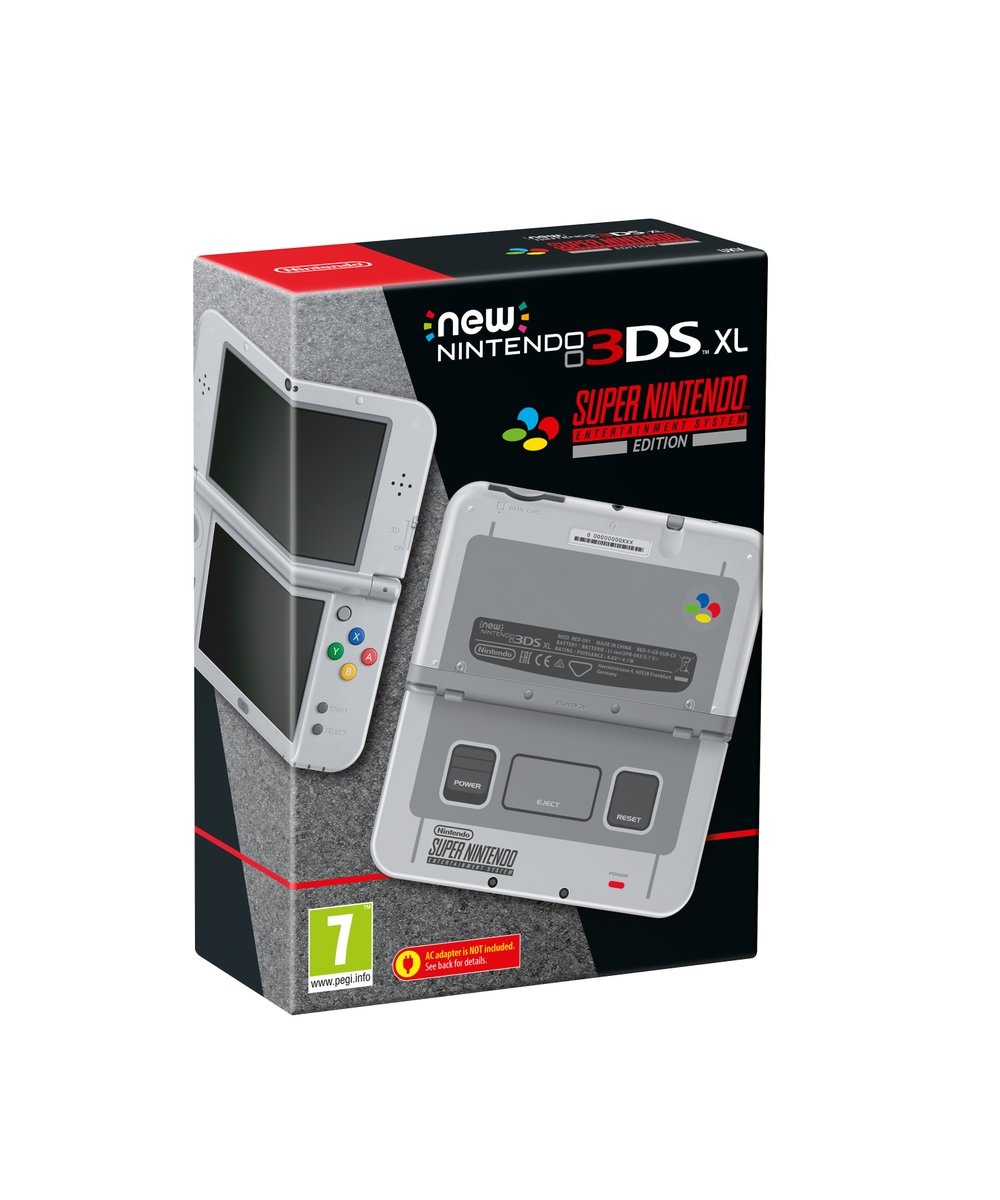 Έρχεται το New 3DS XL Super Nintendo Edition!