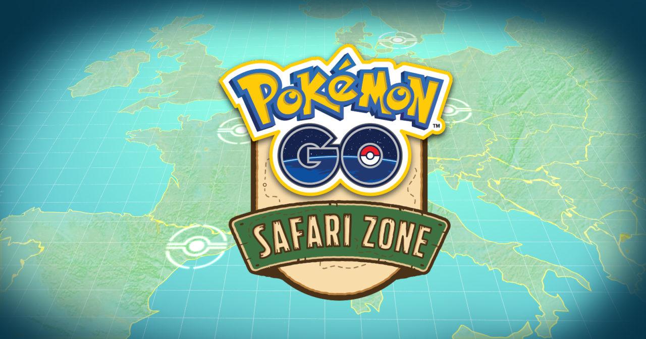 Νέα για τα ευρωπαϊκά Pokemon GO Safari Zone event