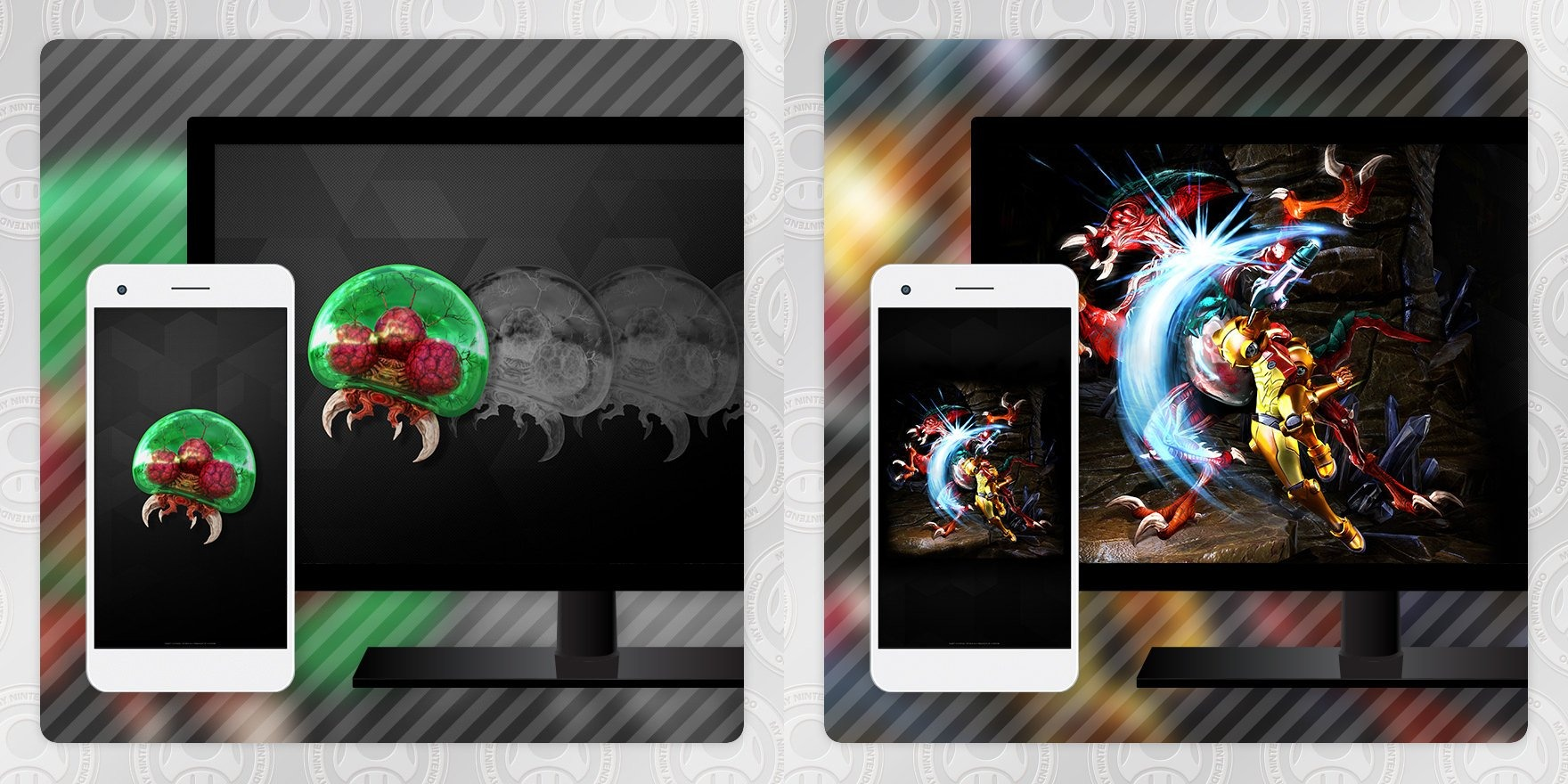 Metroid: Samus Returns wallpapers στο ευρωπαϊκό My Nintendo