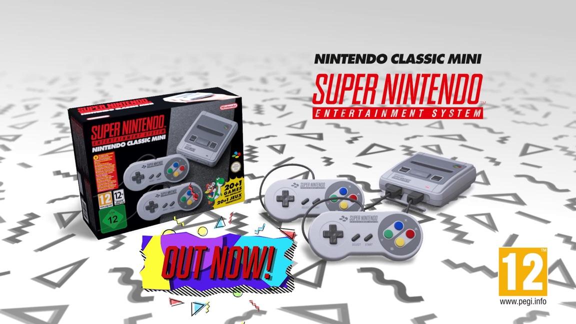 Ευρωπαϊκό τρέιλερ για το Super NES Classic Edition – 300 Platinum Points δώρο