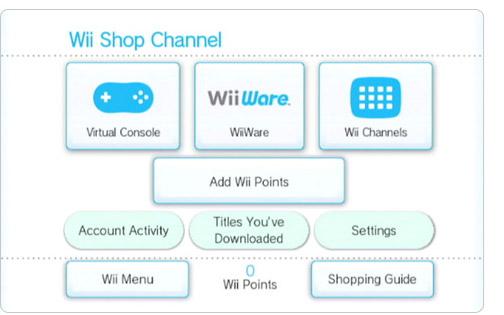 Αυλαία για το Wii Shopping Channel το 2019