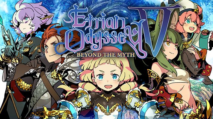 Όλα τα νέα για το Etrian Odyssey V: Beyond the Myth