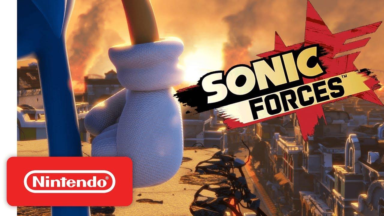 Sonic Forces νέο επίπεδο και δυνάμεις Wispon