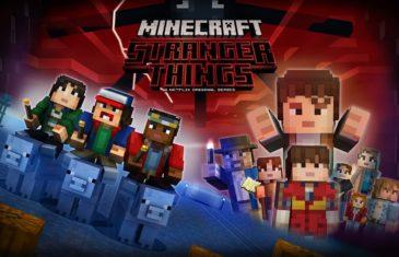 Stranger Thnigs Minecraft