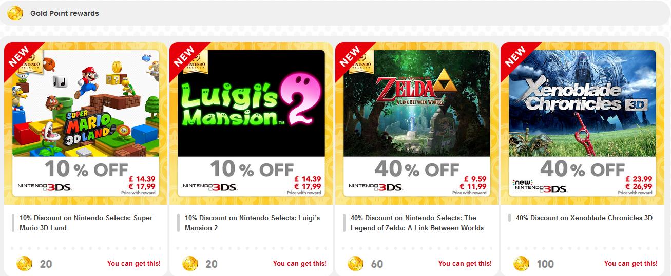 Νέες προσφορές για το 3DS στο My Nintendo