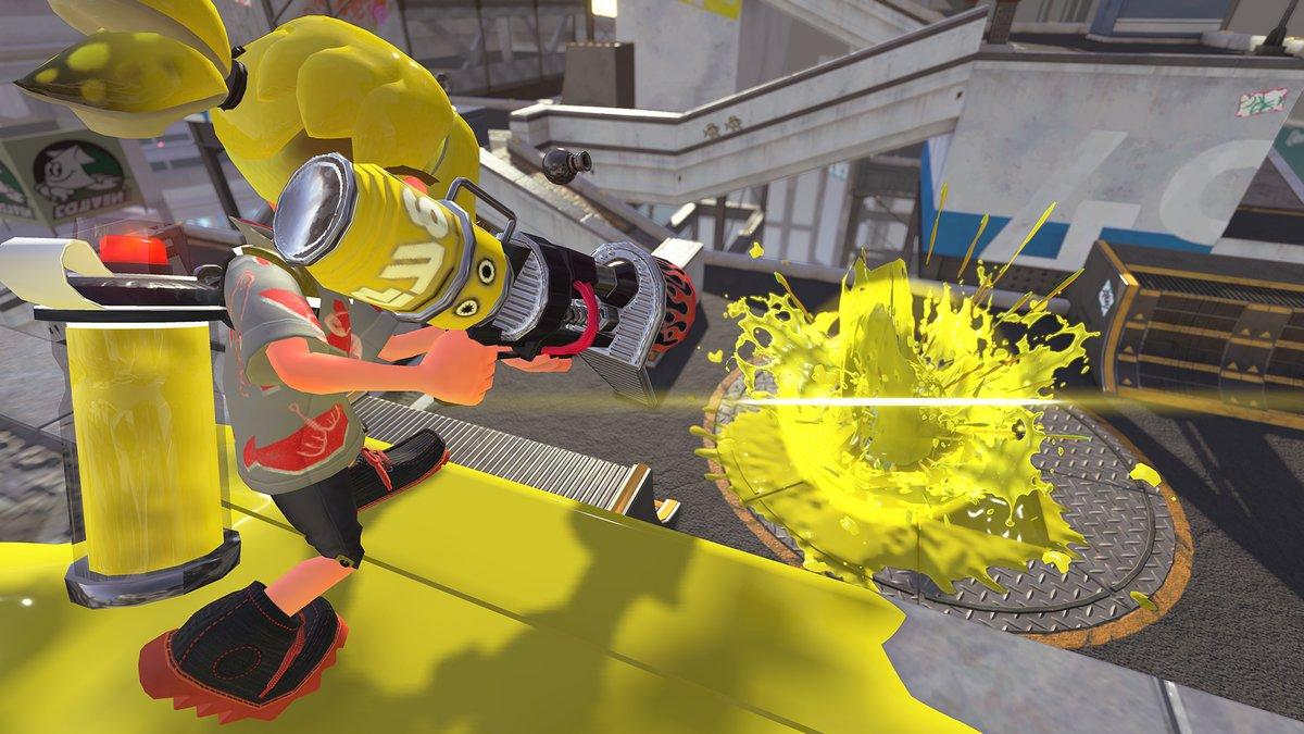 Νέo update και καινούρια όπλα για το Splatoon 2