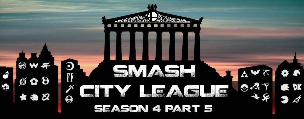 Αποτελέσματα Smash City League Season 4 Part 5