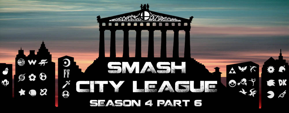 Αποτελέσματα Smash City League Season 4 Part 6