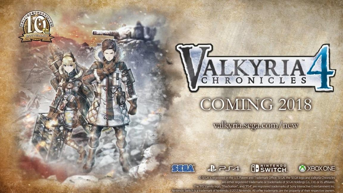 Ανακοινώθηκε το Valkyria Chronicles 4 για τo Switch!
