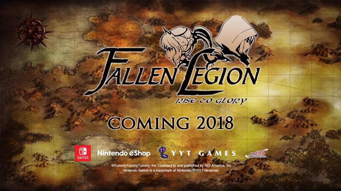 Το Fallen Legion: Rise to Glory έρχεται και στο Switch!