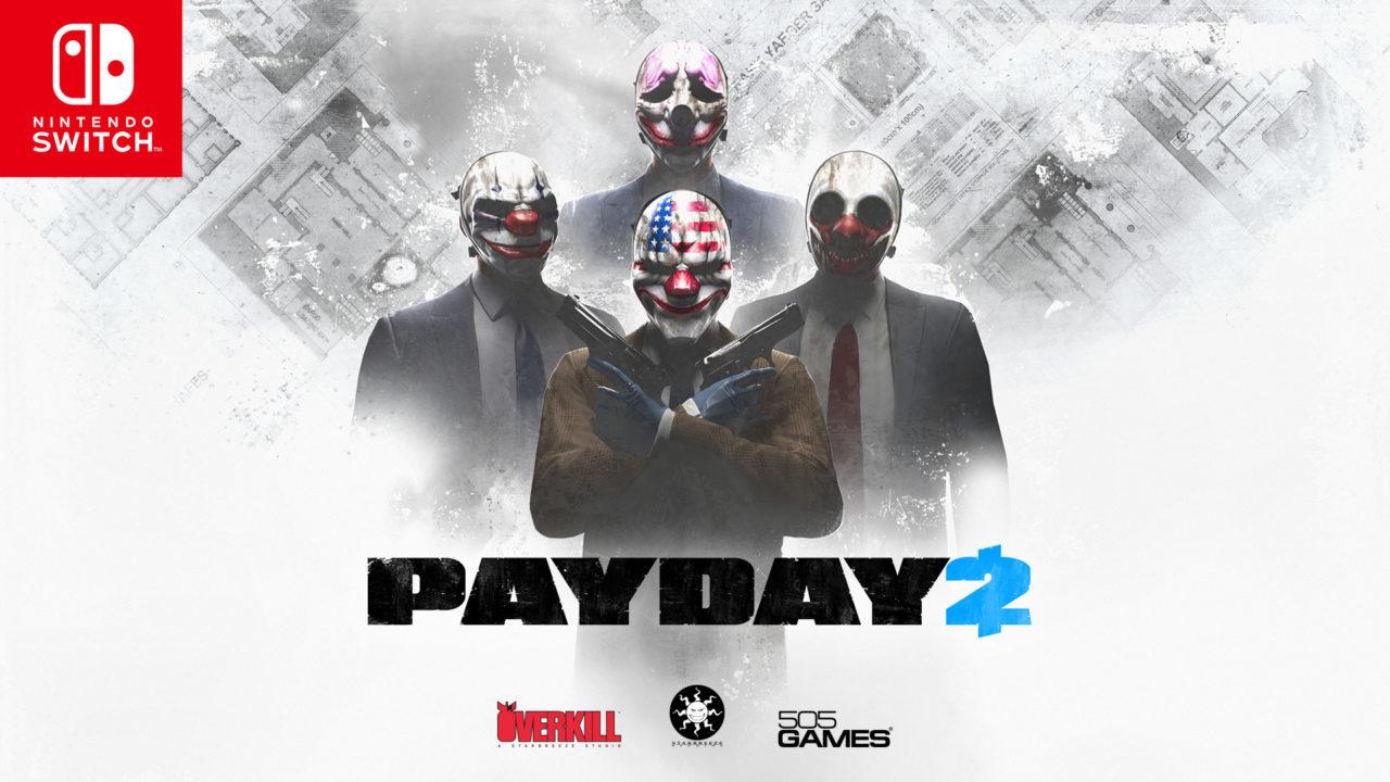 Νέες λεπτομέρειες για το Payday 2 στο Switch