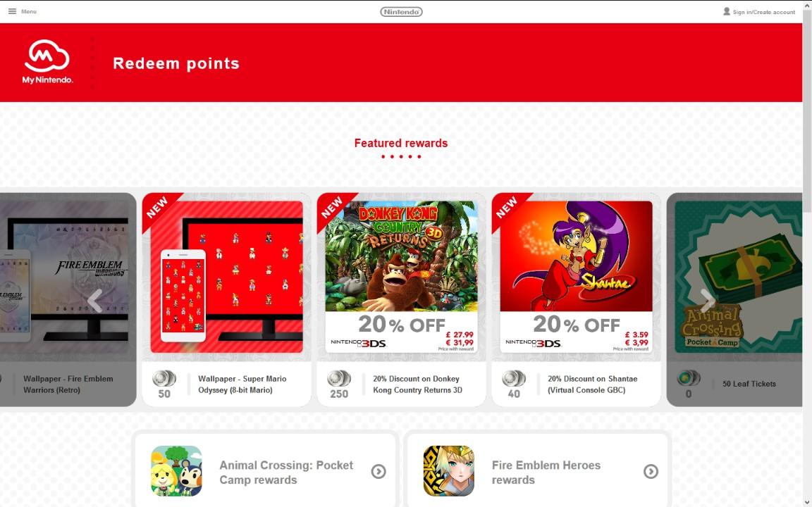 Νέες προσφορές για το My Nintendo στην Ευρώπη