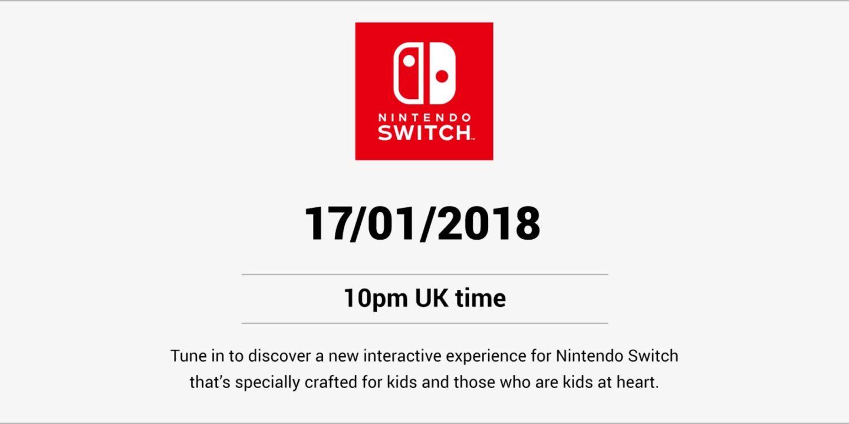 Νέες αποκαλύψεις για το Switch απόψε