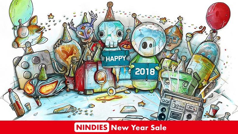 Ξεκινά σήμερα το Nindies New Year Sale για το Switch!