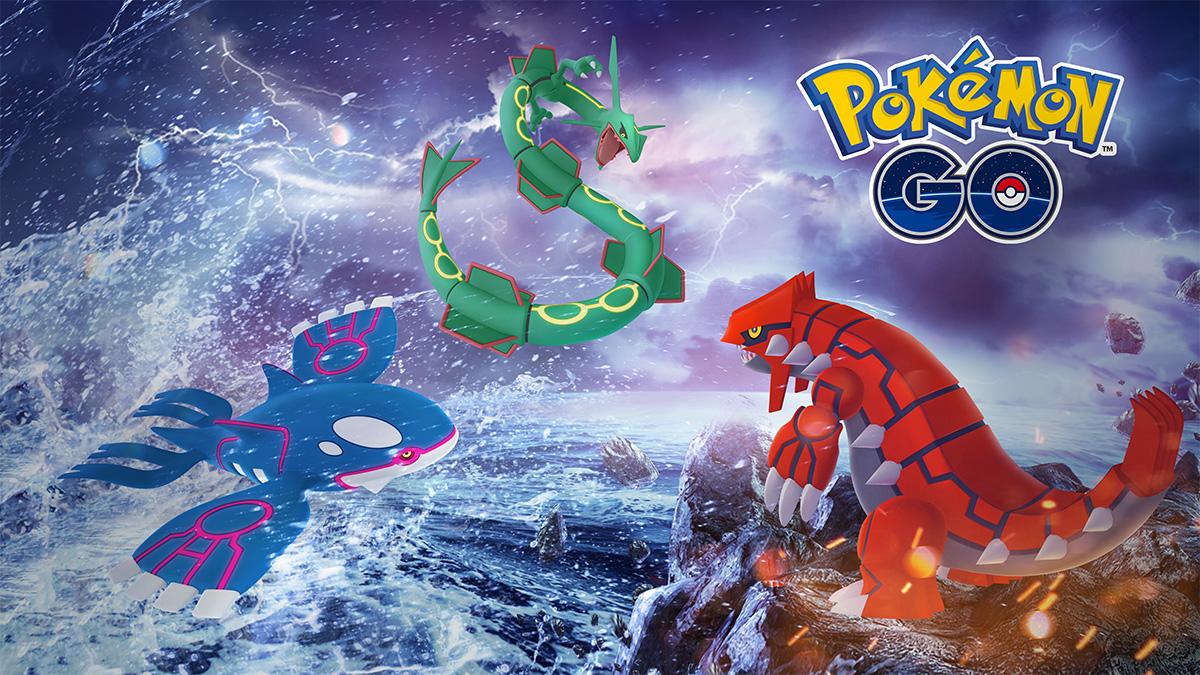 Τα Kyogre και Groudon ήρθαν στα Raid Battles του Pokemon GO