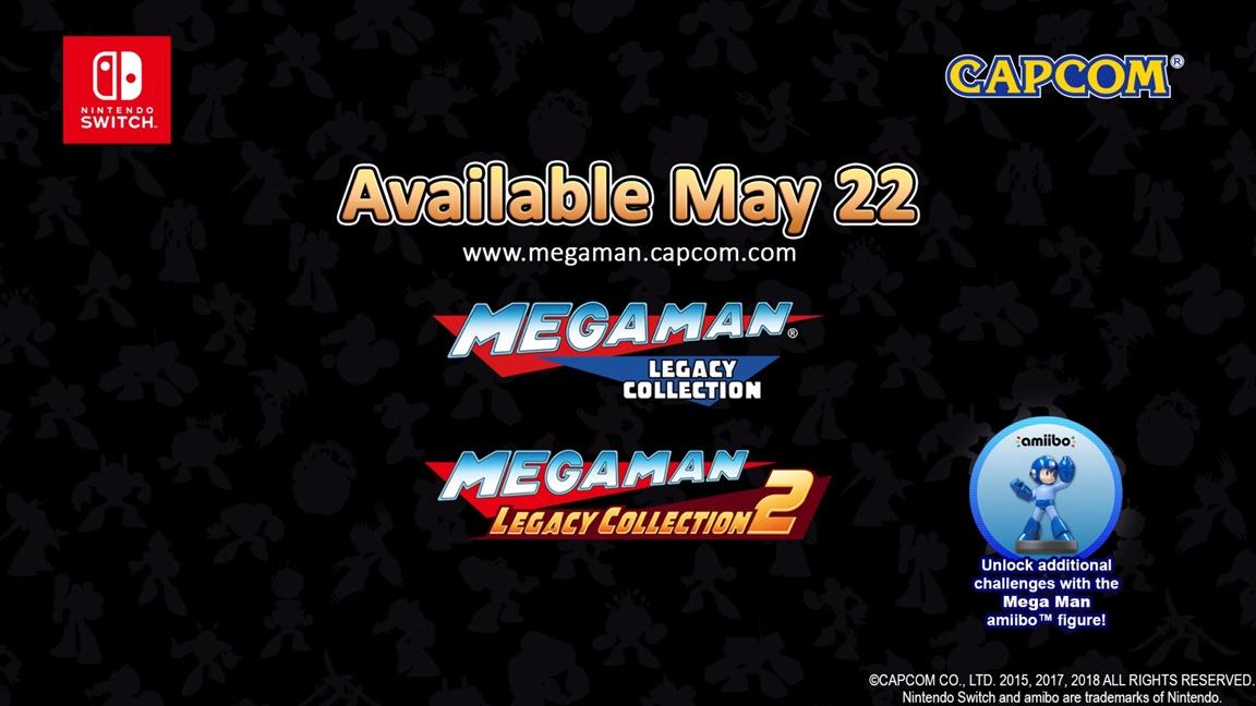 Νέες πληροφορίες για τα Mega Man Legacy Collection 1+2