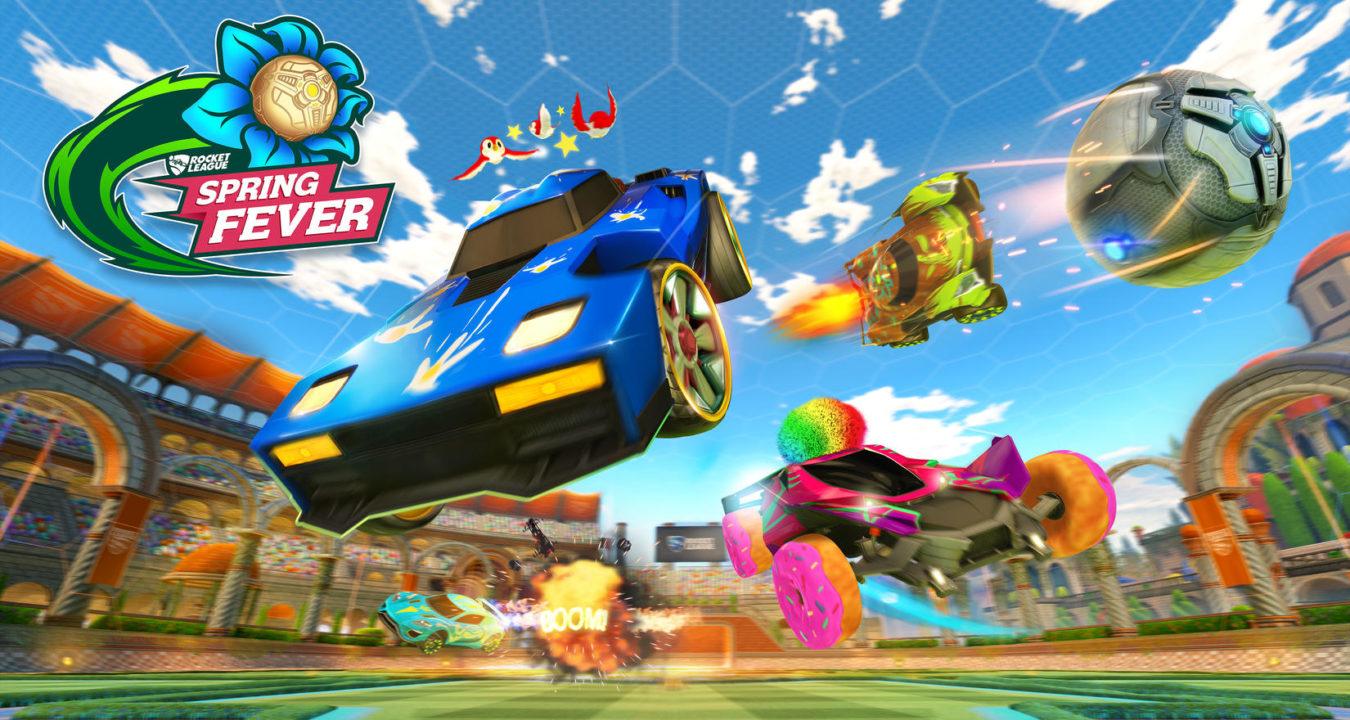 Rocket League: Ξεκινά σήμερα το Spring Fever event