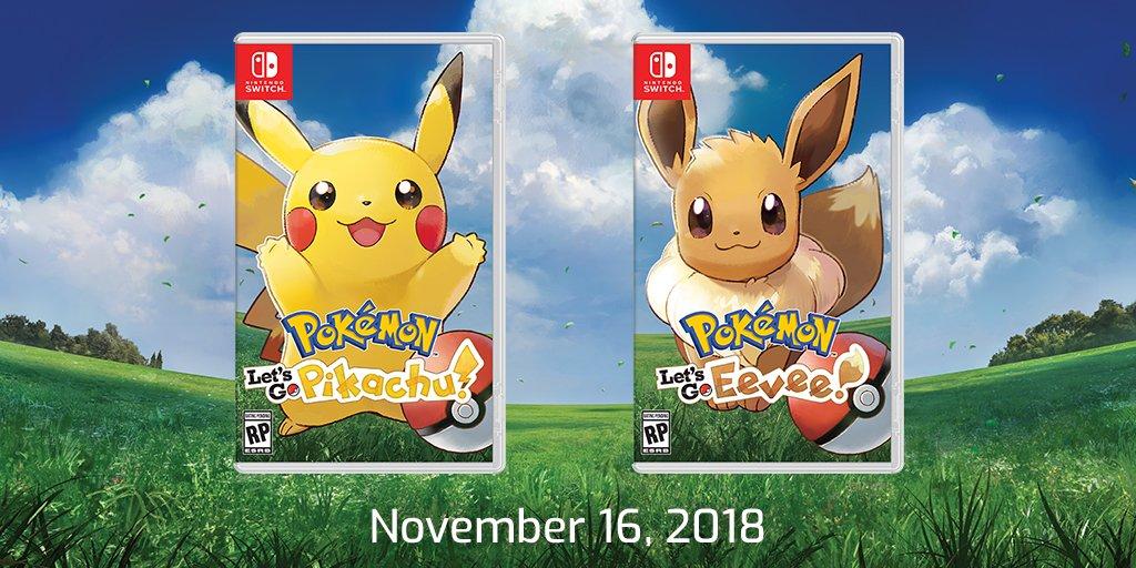 Νέες λεπτομέρειες για τα Pokemon Let's Go Pikachu / Eevee