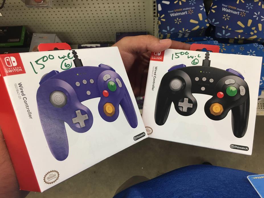 Εμφανίστηκαν επίσημα χειριστήρια που ομοιάζουν με του GameCube για το Switch